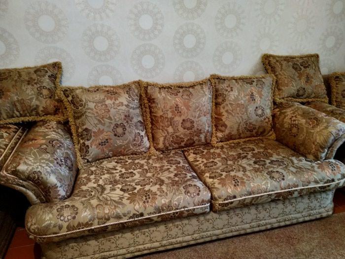 Продаем мягкую мебель, тройка. диван в Бишкек