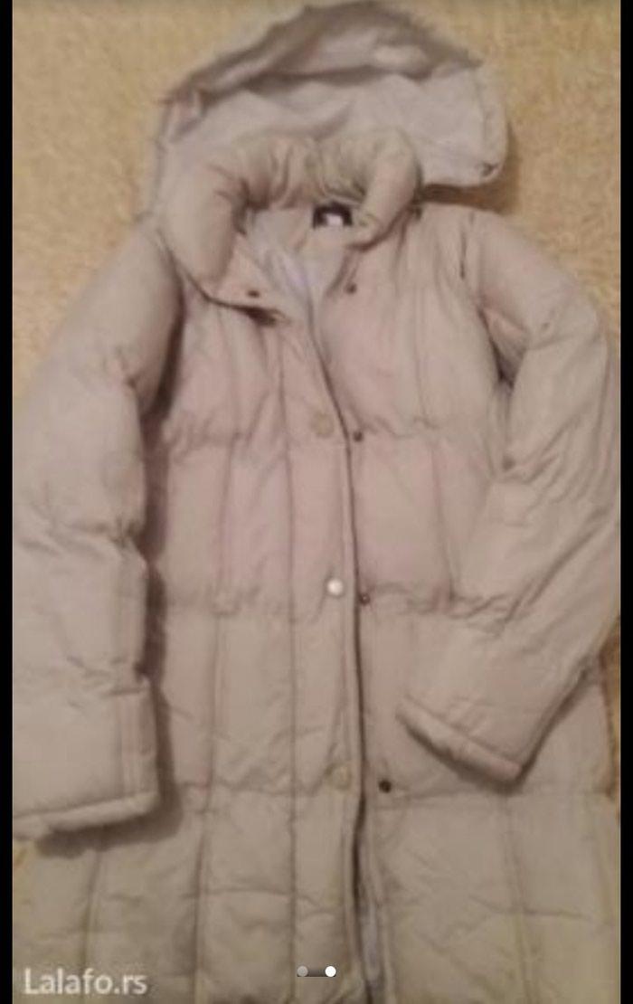 Zimska jakna,veoma topla,krem boje,velicina xxl