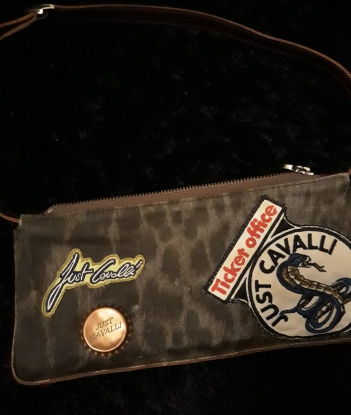 Roberto Cavalli αυθεντικό τσαντάκι