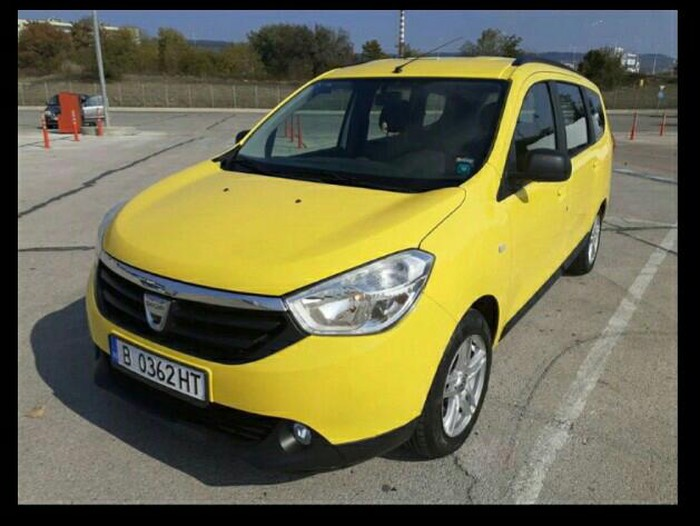 Dacia Lodgy 2013. Photo 0
