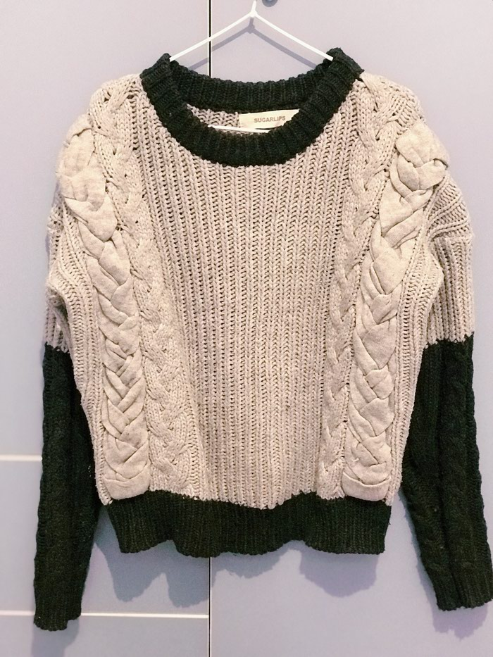 620a5ba9d8945ef Очень теплый вязанный свитер Стильная и необычная моделька за 500 ...