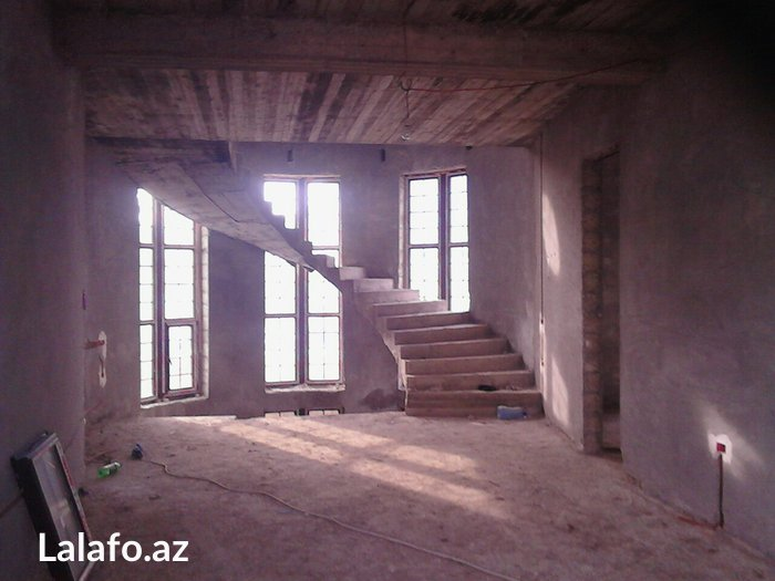 Bakı şəhərində Lisenziyaynan ev villa resdaran binaları tikib tefil veririy hazir