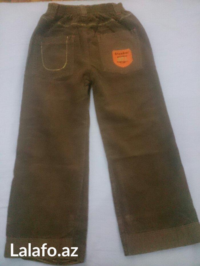 Вельветовые брюки фирмы