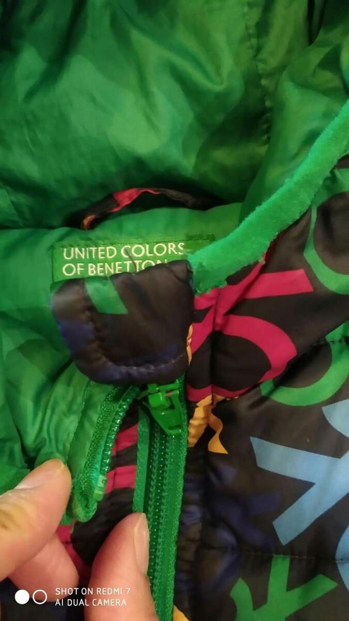 Benetton μπουφαν για παιδακι 4-6 ετων αριστη κατασταση. Photo 1