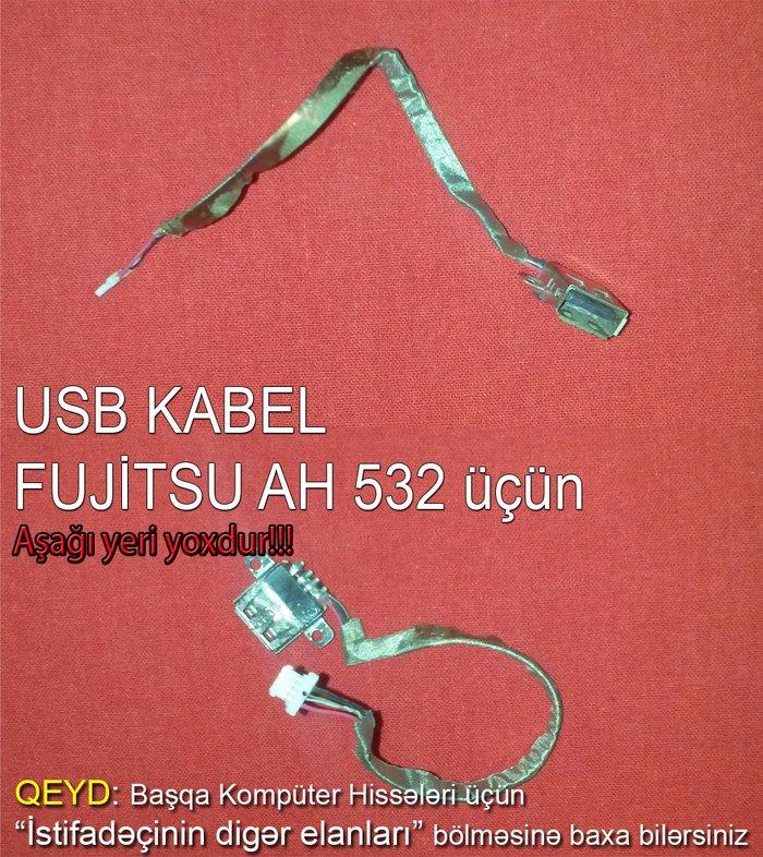Bakı şəhərində Usb kabel fujitsu ah 532. Notebook fujitsu ah 532 ucun usb kabel.
