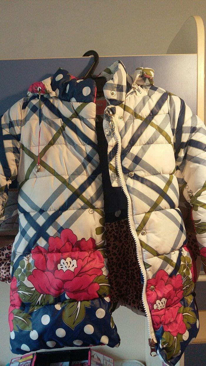 Зимняя куртка на девочку 3-5 лет в Бишкек