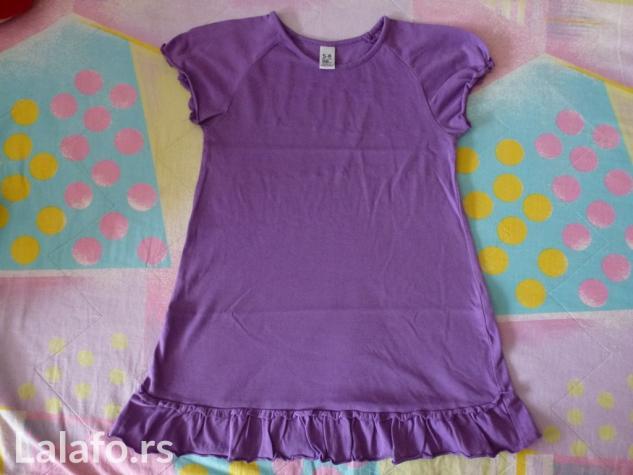 Tunika za devojčice ljubičaste boje kratkih rukava, Zara, veličina 5- - Novi Sad