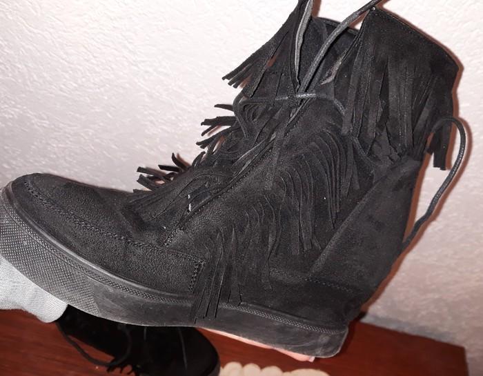 Patike/cipele sa skrivenom platformom..nošene 2 puta...broj 37. Photo 2