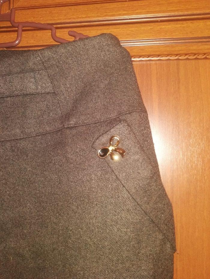 Теплая юбка до колена. Photo 0