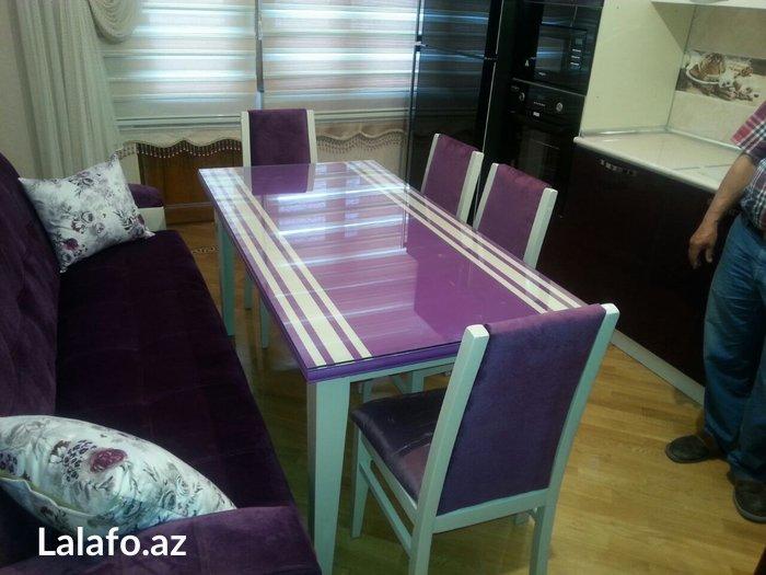 Kuxna stol stulu. Photo 0