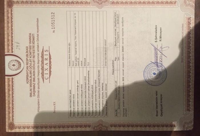 Mənzil satılır: 3 otaqlı, 73 kv. m., Bakı. Photo 1