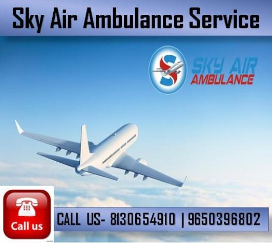 Take Benefit of an Affordable Charge Air Ambulance from Delhi