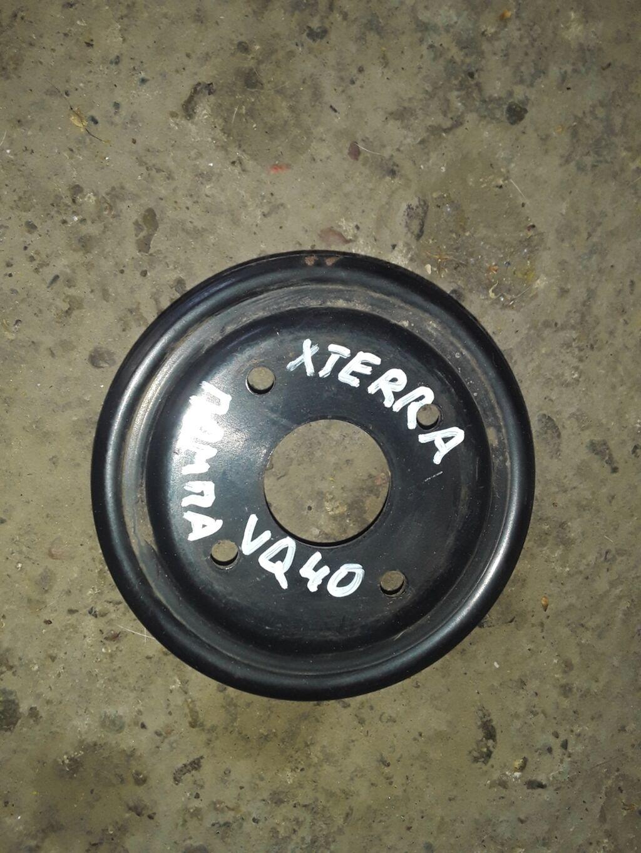 Nissan XTerra VQ40 шкив помпы, Ниссан ХТерра шкив помпыШкив помпы на: Nissan XTerra VQ40  шкив помпы, Ниссан ХТерра шкив помпыШкив помпы на