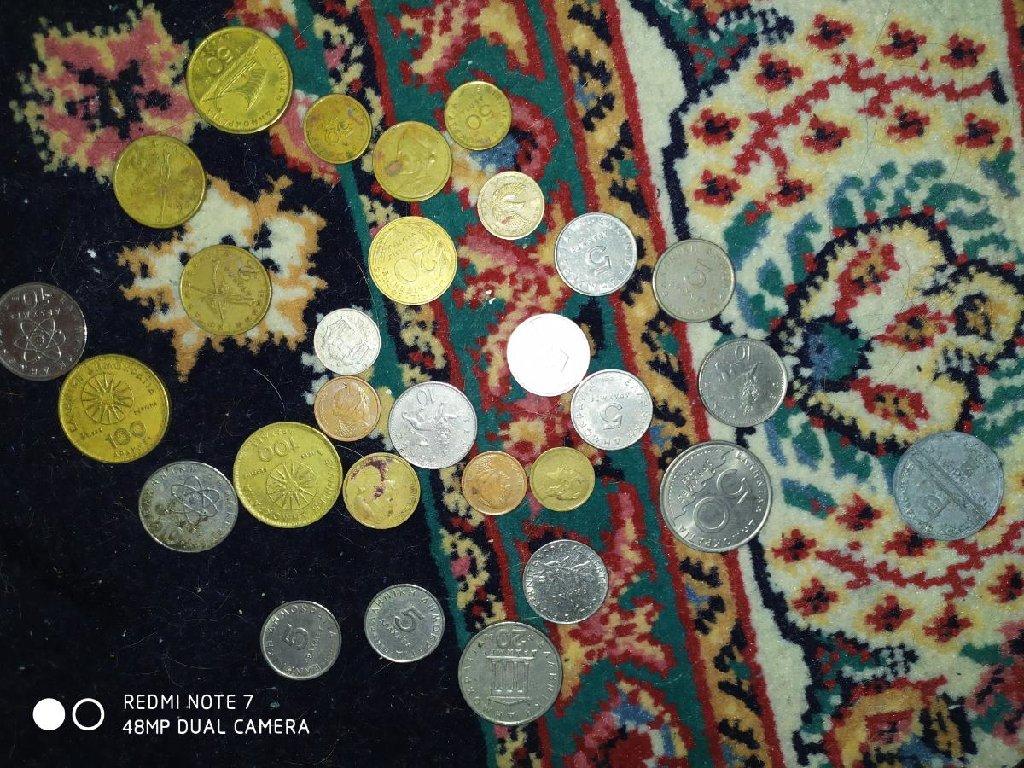 Διάφορα ελληνικά νομίσματα