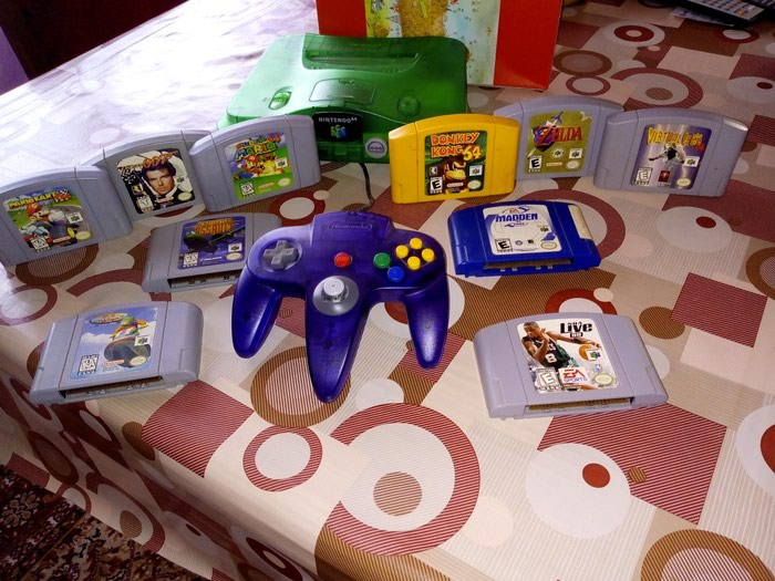 Nintendo 64 αμερικάνικο μοντέλο σε Αθήνα