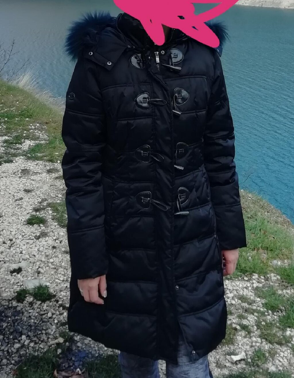 Original Champion jakna. Malo nosena. Vel. 36, S-M, placena 14999