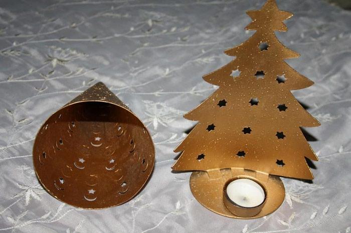 Σετ χριστουγεννιάτικα κηροπήγια.. Photo 3