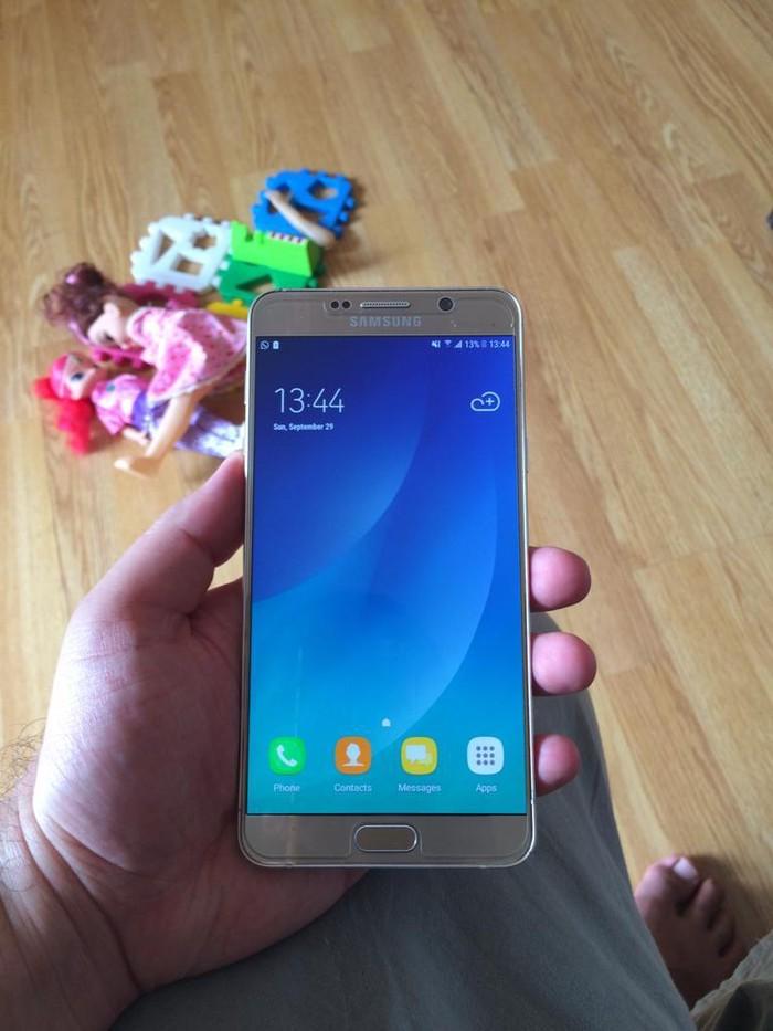 İşlənmiş Samsung Galaxy Note 5 32 GB qızılı. Photo 0