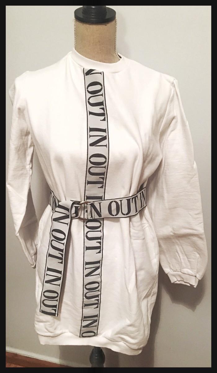 Φουτερ μπλουζοφορεμα one size. Photo 0
