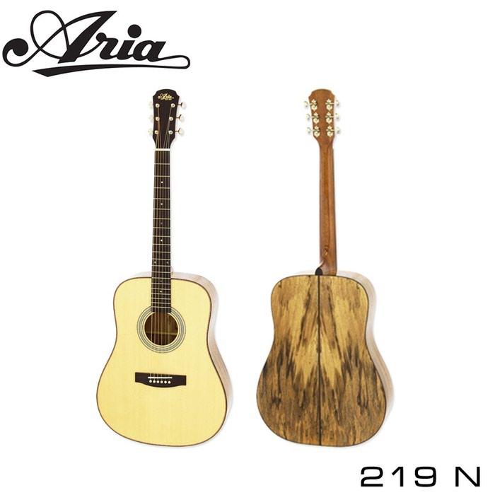 Гитара акустическая высококачественная известного производителя ARIA-219 N
