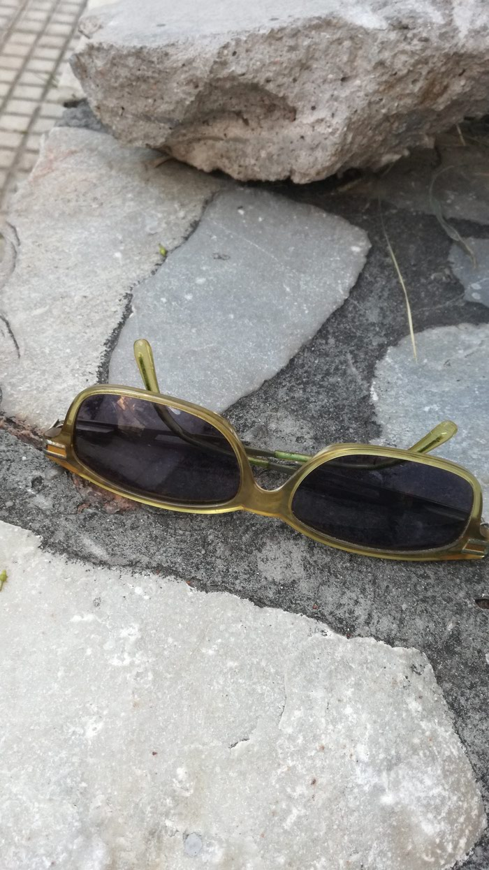 Prince Oliver sunglasses. Yellow frame / black lens.. Photo 0