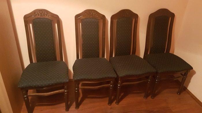 Sto sa 6 stolica novo 140x105 dim stola. Photo 2