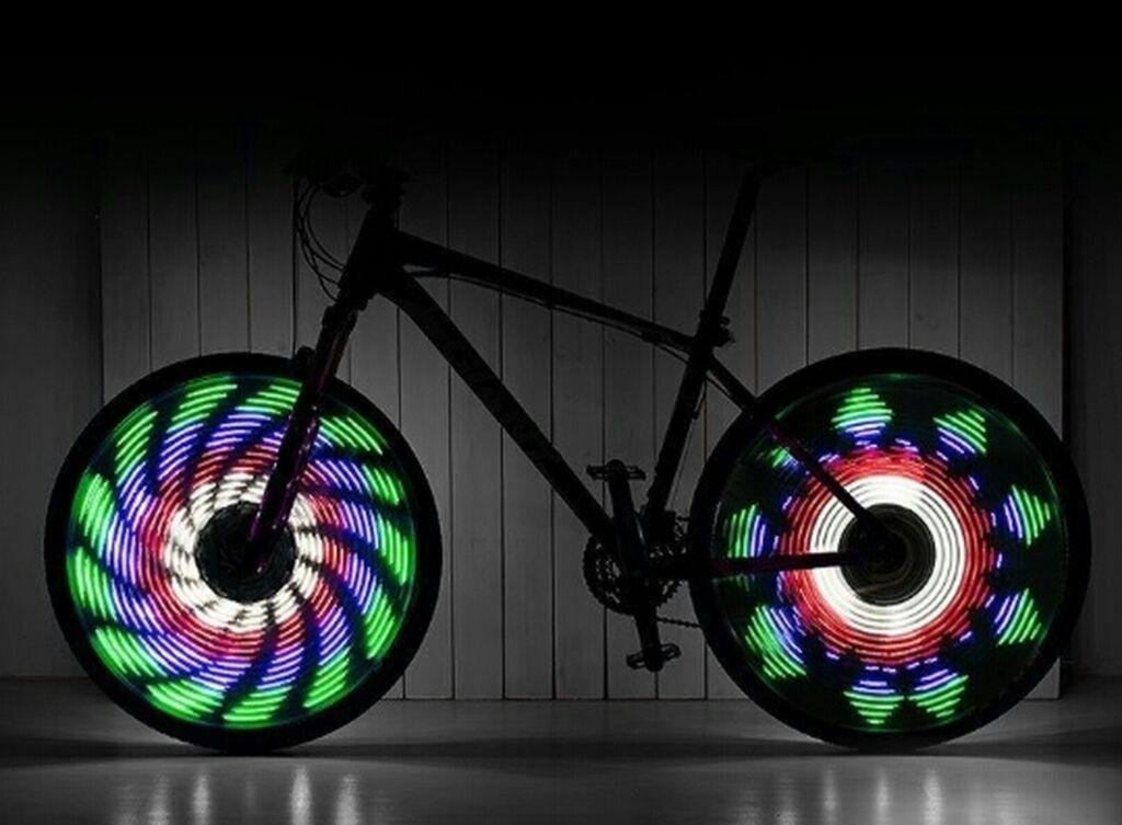 64LED анимация - подсветка для велосипеда64LED гаджет, устанавливается: 64LED анимация - подсветка для велосипеда64LED гаджет, устанавливается