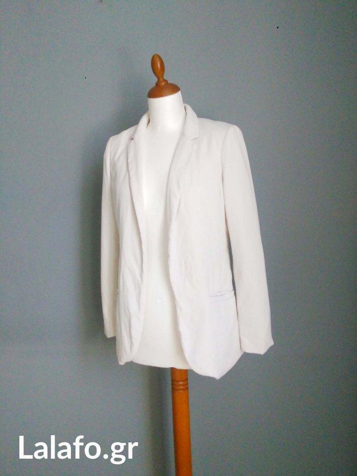 H&M λευκο σακακι