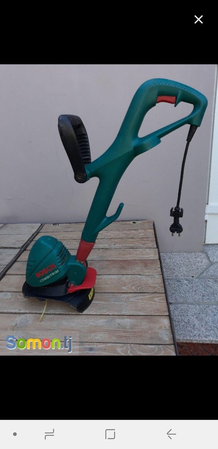 Продам триммер газонокосилку фирмы BOSCH в хорошем рабочем состоянии в Хайдар-Усмон