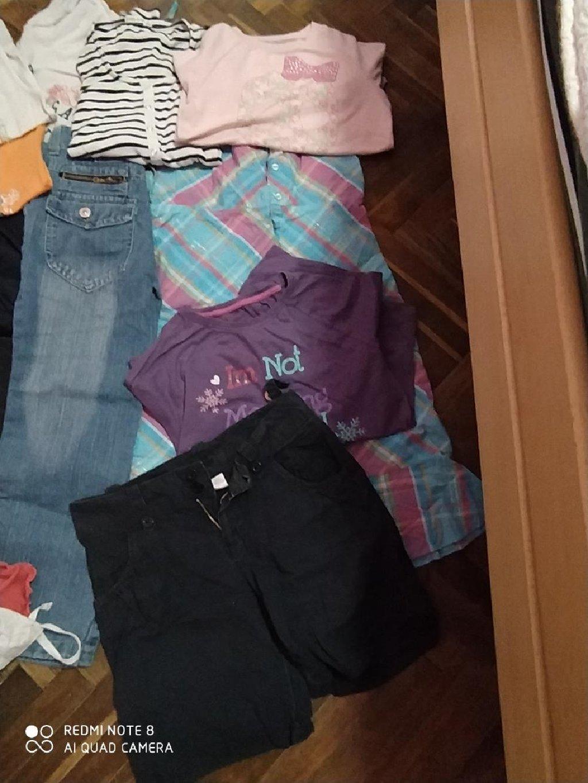 Paket odece za devojcice, veličina od 10-12