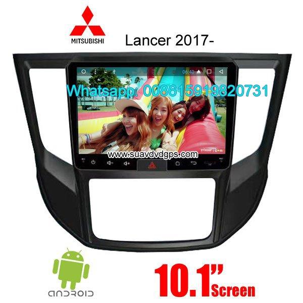 Mitsubishi Lancer 2017 radio GPS android