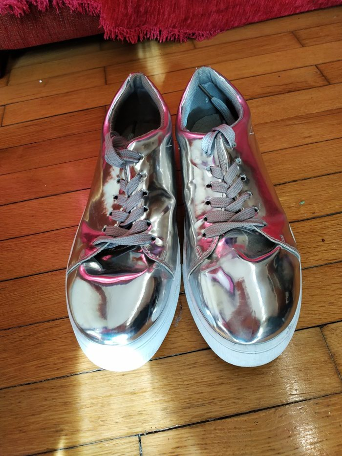 Sneakers με mirror effect, νούμερο 40 σε Χίος