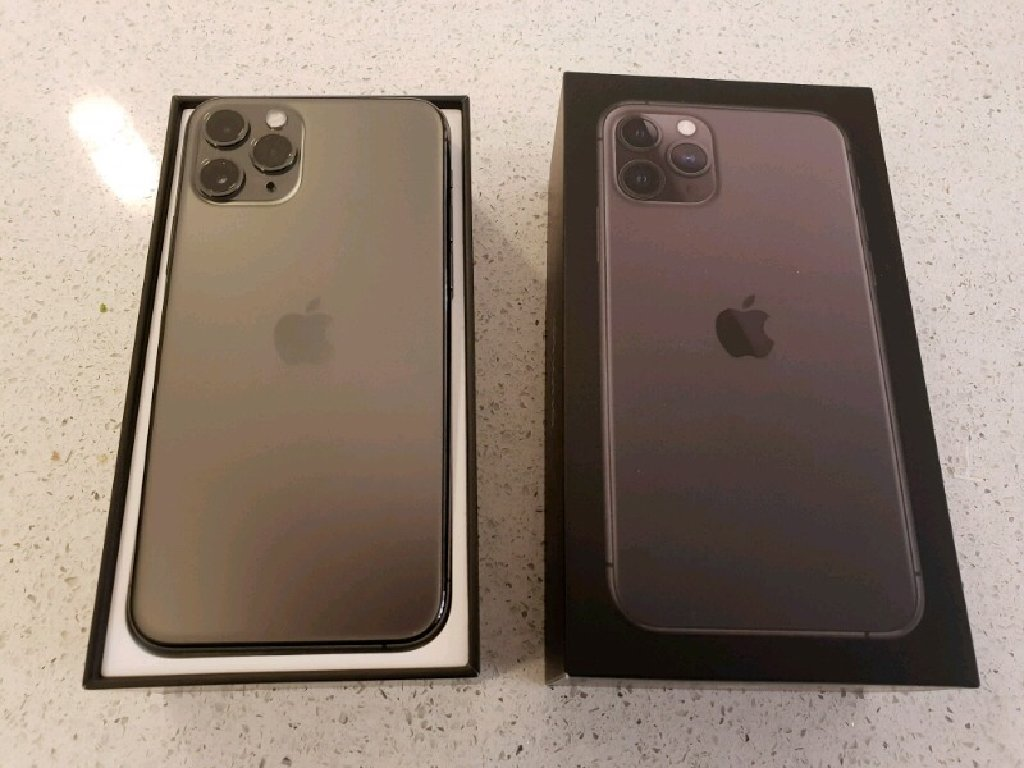 Space grey iPhone 11 Pro Max 64Gb ( Factory unlocked )
