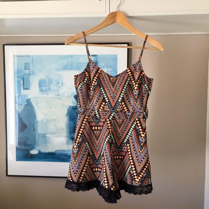 H&M κοντή αμάνικη ολόσωμη φόρμα. Tribal,. Photo 2