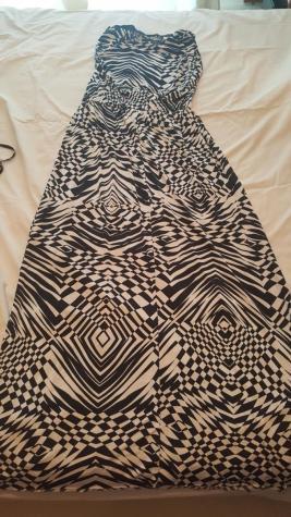 Μαξι στραπλες φόρεμα από ελαστικό ύφασμα