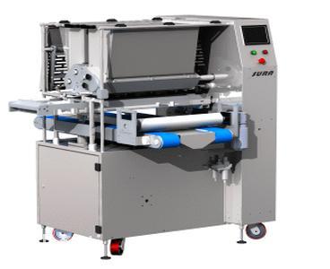 Предлагаем на рассмотрение универсальную  двухбункерную отсадочную машину Сура-СДУ600  которая может комплектоваться разными узлами и отсаживать различные кондитерские изделия