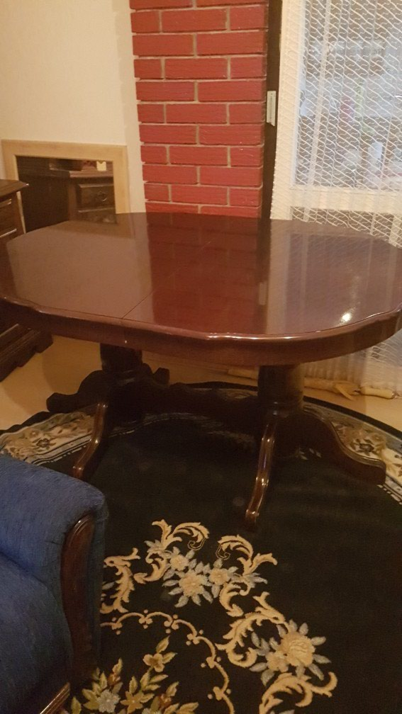 Sto sa 6 stolica novo 140x105 dim stola. Photo 0