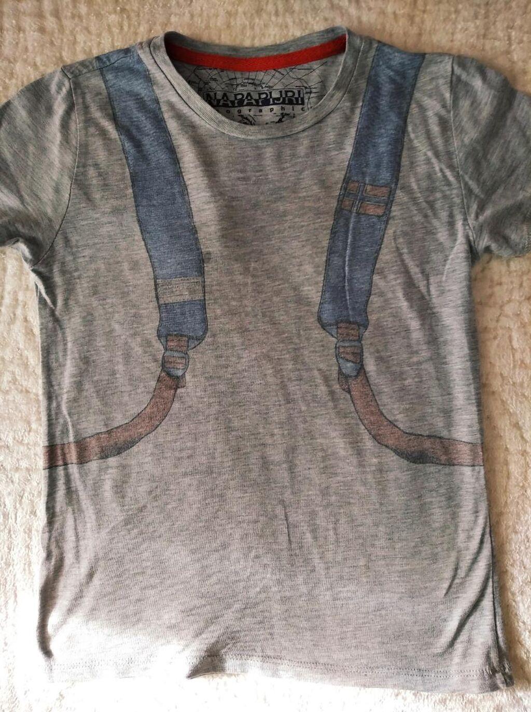 Napapijri  βαμβακερο μπλουζακι για παιδακι 5-6 μιση ετων