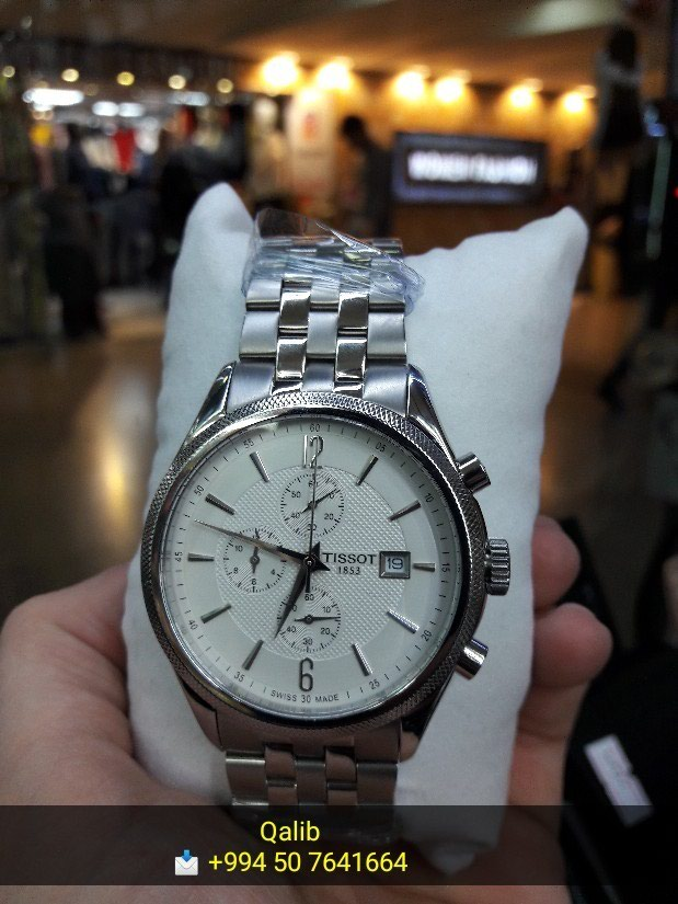 Kişi Gümüşü Klassik Qol saatları Tissot. Photo 0