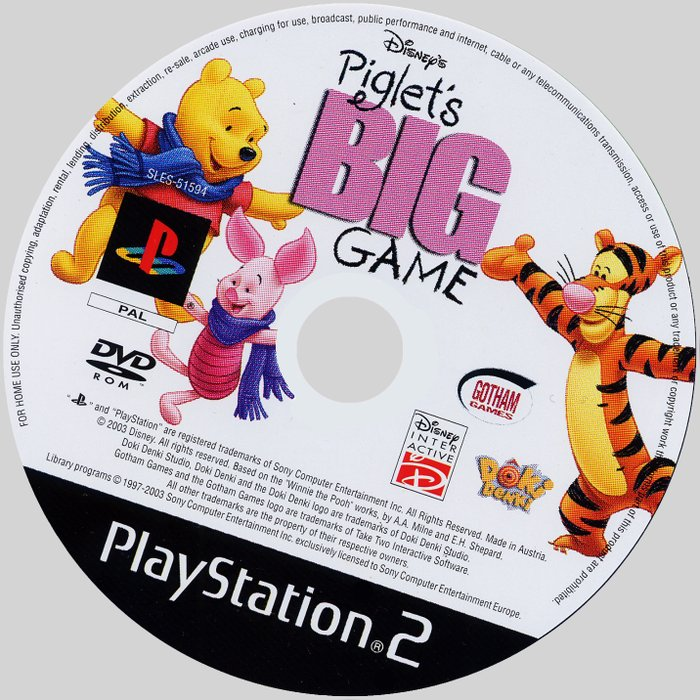 Disney Piglet S Big Game Ps2 Ucun Yenidir Sayi Coxdur Za 5 Azn V Baku Ps2 Ps1 Sony Playstation 2 1 Na Lalafo Az