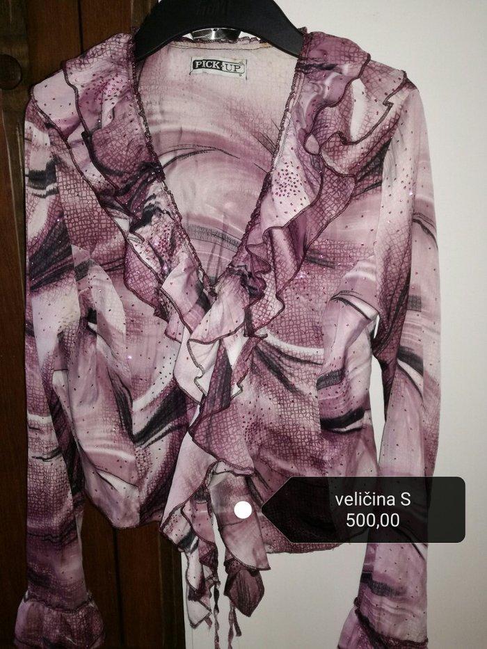 Košulja sa šljokicama, vel. S, bez oštećenja - Pancevo
