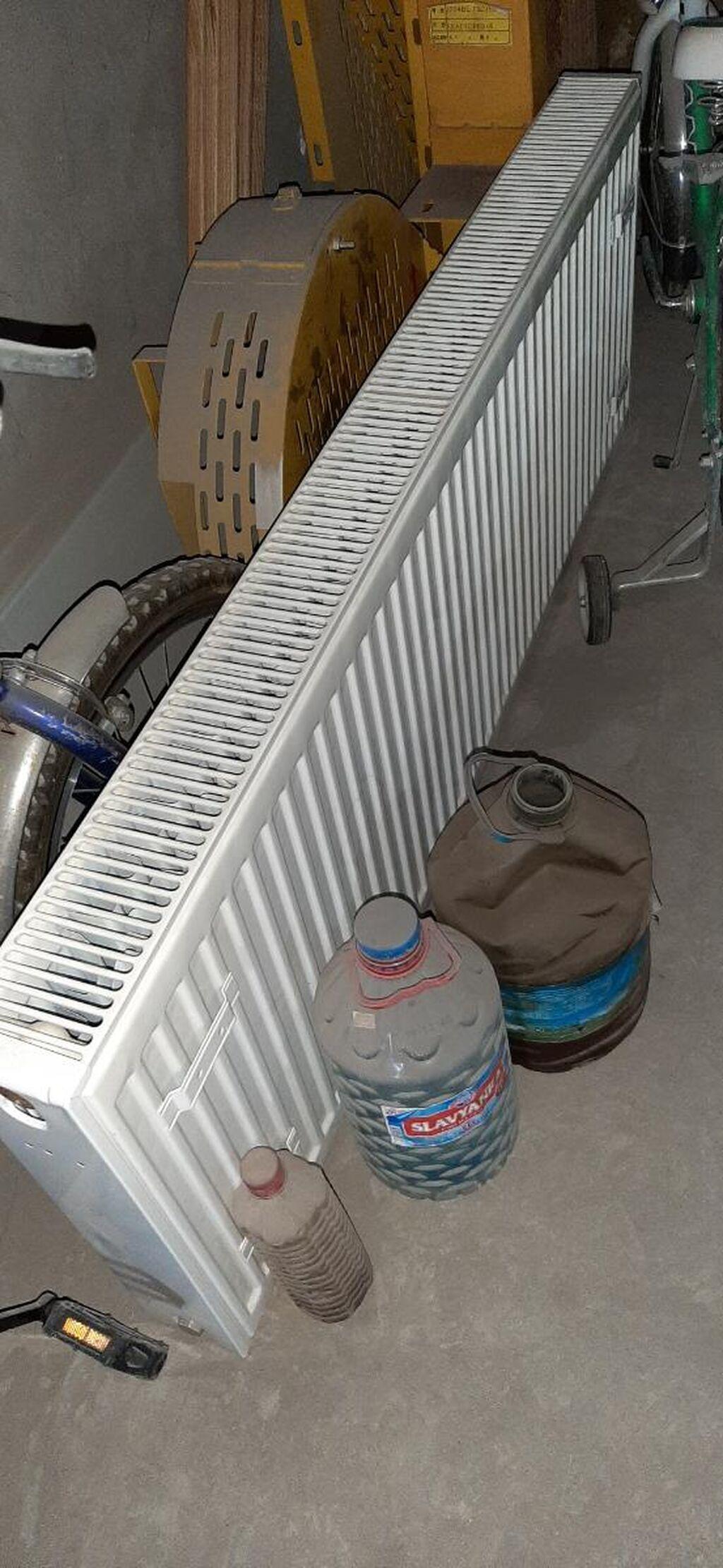 Radiator 1.5metr teze kimidi qalin stenkalidi