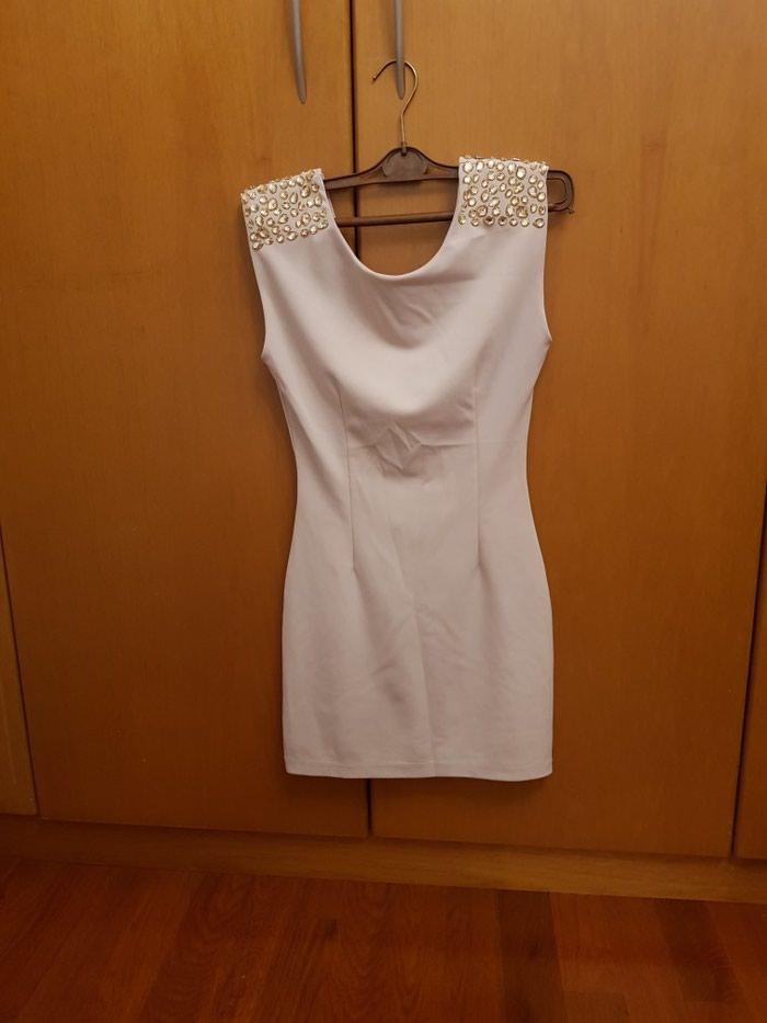 Φόρεμα ρόζ απαλό με στράς στους ώμους S σε Νέα Σμύρνη