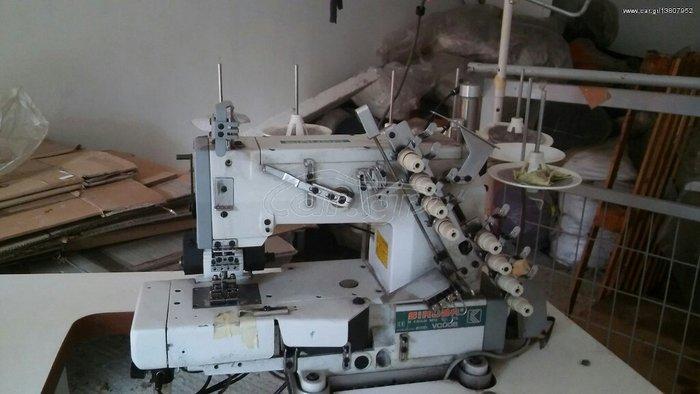 Λάστιχομηχανή τετραβέλονη, ελαφρώς μεταχειρισμένη. Photo 0