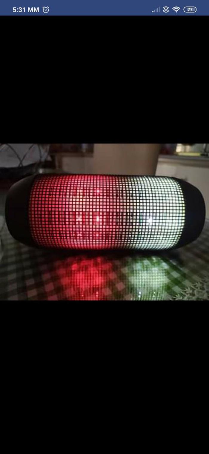Ηχειο with led light. Photo 2