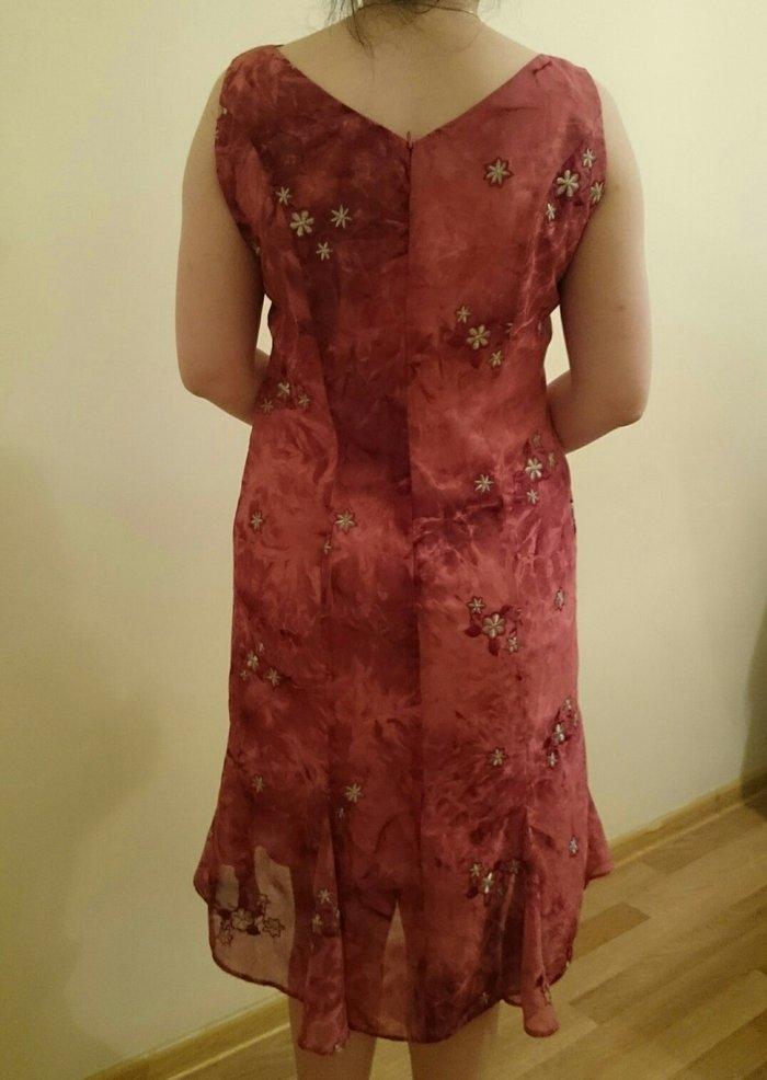 Şifon elbise.Gózel górûnûşe malikdir.Serin saxlayır.36-38. Photo 3