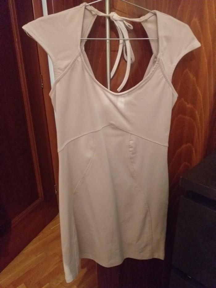Anel μοδατο μινι μπεζ φορεμα
