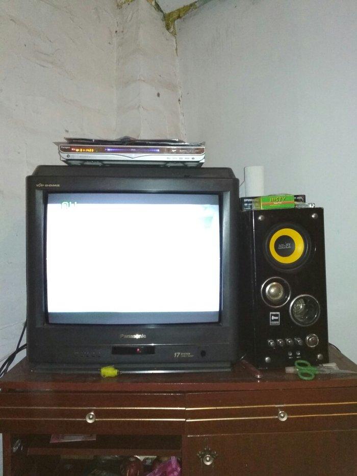 телевизор санарик калонка срочно продаю в Лебединовка