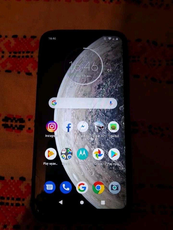 Motorola g7 power 2019 kupljena pre 4 meseca Nova I islapa je I napukla Ali nesmeta pri radu Ima masku novu 64gb 4giga rama Duall sim na sve mreze ima otisak prsta baterija 5000mh moze zamena Cena nije fiksnaza sve ostale informacije pisite u inbox poruke