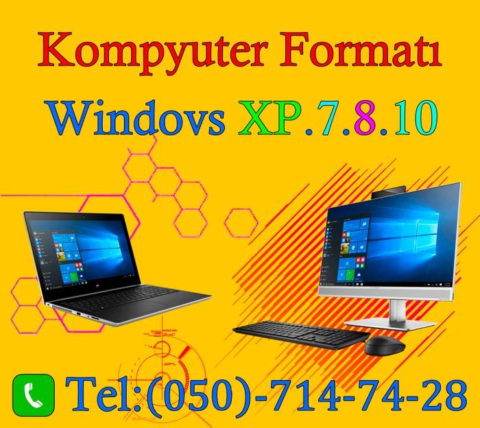Kompyuter Formatıwindovsxp7810 цена 20 Azn It интернет